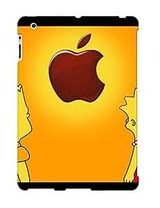 TjQLECx1083CQcAt Tpu Phone Case With Fashionable Look For Ipad 2/3/4 - Lisa And Bart On Ipad
