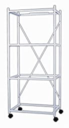 YML 4-Shelves Stand for Pet Cages, White