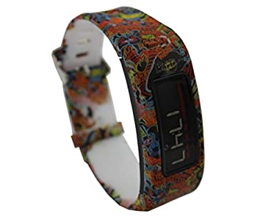 CUMILO Silicone Replacement Accessory Wrist Bands for Garmin Vivofit(No Tracker, Replacement Bands Only)