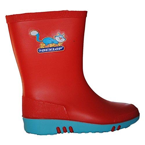 Stivali professionali Dunlop Mini per bambini colorati, senza puntale in acciaio - K131514/K131510
