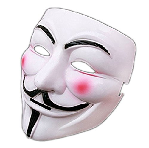 Hqclothingbox V For Vendetta Mask Guy Fawkes Anonymous Fancy Cosplay Costume
