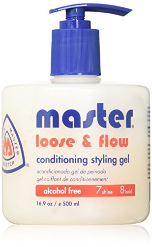 [Master Well Comb Loose & Flow Alcohol Free Conditioning Styling Gel] (Flow Comb)