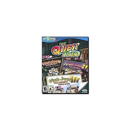 Amazon com: iWin 204 The Quest Trio: Mahjong [CD-ROM