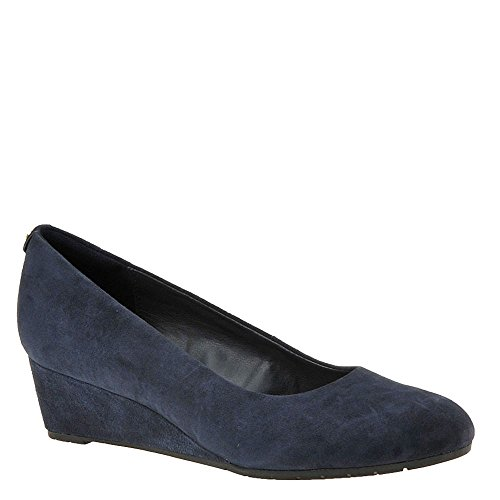 low price fee shipping cheap price CLARKS Women's Vendra Bloom Wedge Pump Navy-suede free shipping 2014 new free shipping deals discount 2015 bnOLR0GvVU