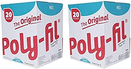 Fairfield The Original Poly-Fil Premium Box White New Version 20 lb