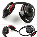 Nyubi ORIGNAL QUALITY BLUETOOTH HEADPHONES FOR NOKIA AND OTHER SMARTPHONES-RED Universal Wireless NOKIA 503 Bluetooth Headphone Stereo Music Headset Earphone with Built-in Microphone +TF Cart Slot - BLACK BH503 Bluetooth Headset Stereo Genuine Headphone ENJOY WITH MIC & MUSIC CONTROL ALSO