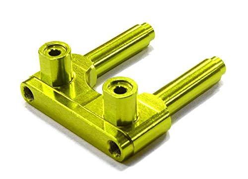 - Integy RC Model Hop-ups C26491GREEN Billet Machined Gear Box Brace for Vaterra Twin Hammers 1.9 Rock Racer
