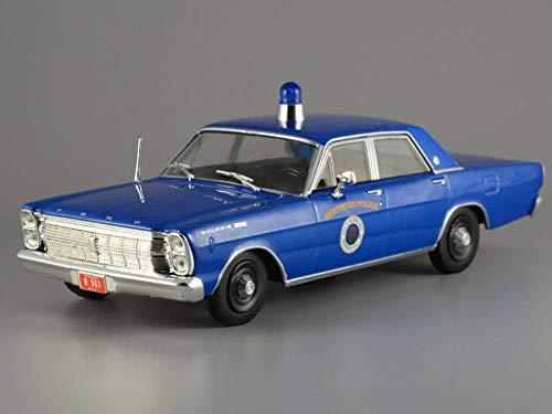Ford Galaxie 500 American Westwood Police 1966 Year 1/43 Scale Diecast Model Car