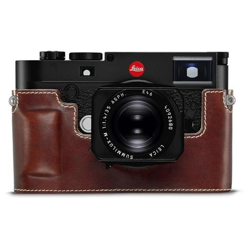 Leica M10 Protector, Leather, Vintage Brown