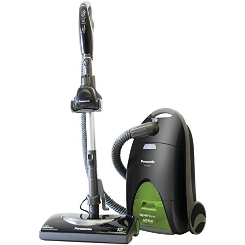 "Panasonic MC-CG917 ""OptiFlow"" Bag Canister Vacuum Cleaner - Corded"