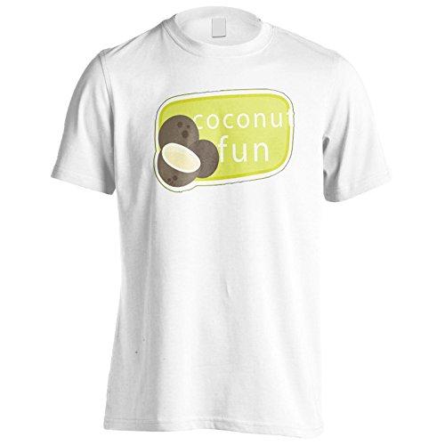 Neue Kokosnuss Spaß Leckere Neuheit Herren T-Shirt l357m