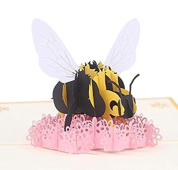 Amazon.com: Tarjetas de felicitación de cumpleaños 3D con ...