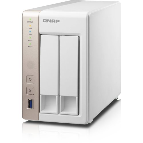 "Qnap Systems - Qnap Ts-251 Nas Server - Intel Celeron 2.41 Ghz - 2 X Total Bays - 1 Gb Ram - Serial Ata/600 - Raid Supported - Hdmi - 4 X Usb Ports ""Product Category: Storage Arrays & Servers/Storage Servers"""