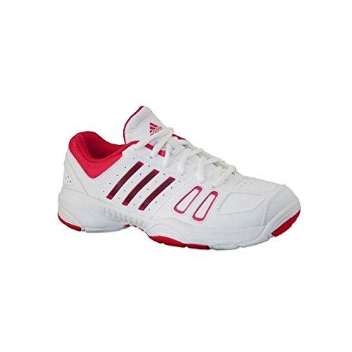 Schuhe Adidas Mädchen Court Edge K weiß/rosa weiß