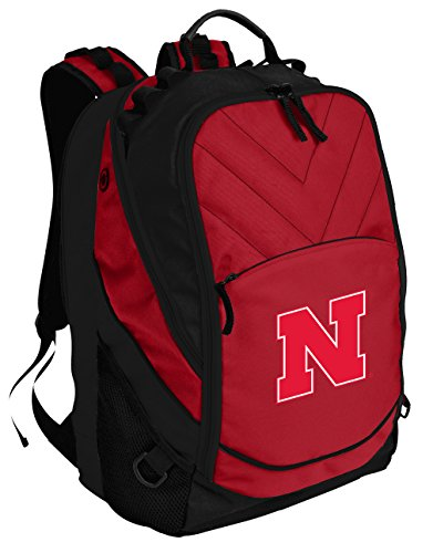 Broad Bay Nebraska Huskers Backpack Red University of Nebraska Laptop Computer -
