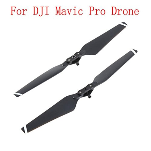 Price comparison product image Livoty 1 Pair 8330 Quick-release Folding Propellers Screw Prop For DJI Mavic Pro