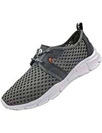 "<span class=""a-offscreen"">[Sponsored]</span>Men's Lightweight Athletic Quick Drying Mesh Aqua Slip-on Water Shoes"