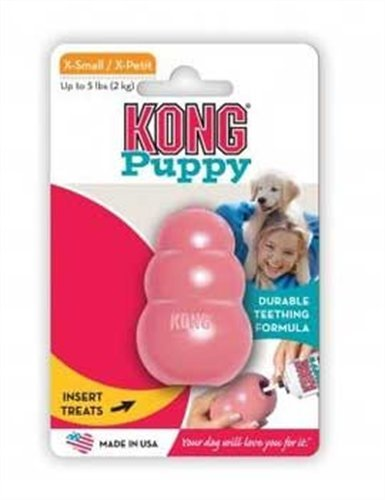 KONG Puppy Kong Toy, X-Small (Colors Vary), My Pet Supplies