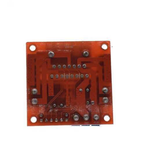 L298N motor driver board module L298 for arduino stepper motor smart car robot 10pcs by Swiftflying (Image #5)