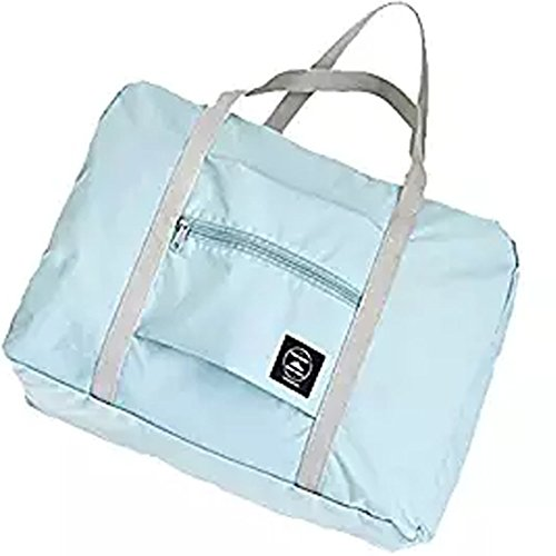 Foldable Travel Duffel Bag Trustbag Water & Tear Resistant,Blue
