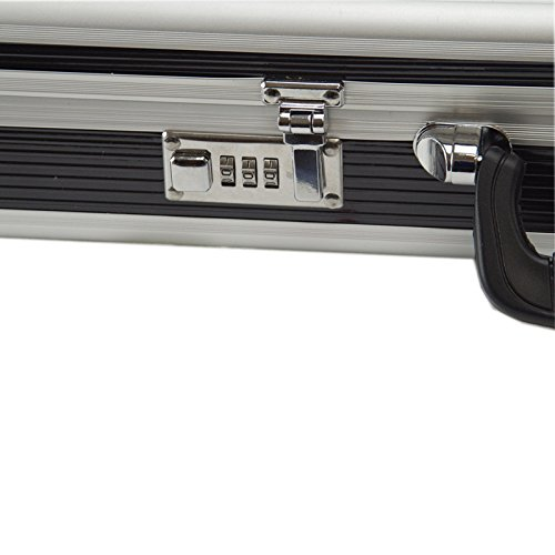 SRA Cases EN-AC-FG-A486 Aluminum Hard Case for Rifle Shotgun, 44 x 11.4 x 4'', Black by SRA Cases (Image #2)