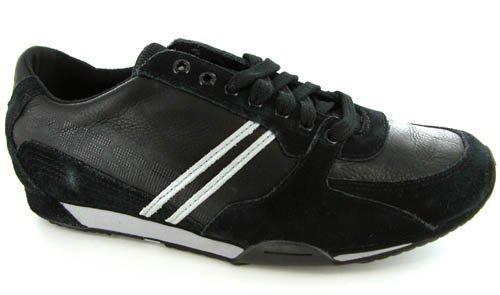 Diesel Women's Parabarny, Black Sneakers, Women's 6 B Medium