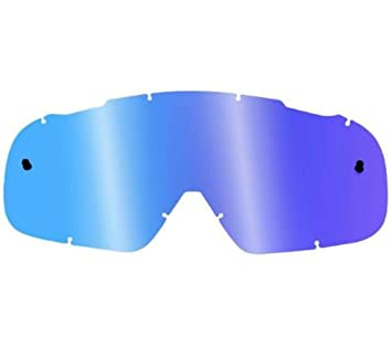 ff8f4a2b05c50 Fox Racing AIRSPC Lexan Anti-Fog Adult Replacement Lens MotoX Off-Road Dirt  Bike Motorcycle Eyewear Accessories - Blue Spark   One Size by Fox Racing   ...