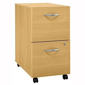 File Cabinet w Casters u0026 Locking Bottom Drawer - Series C