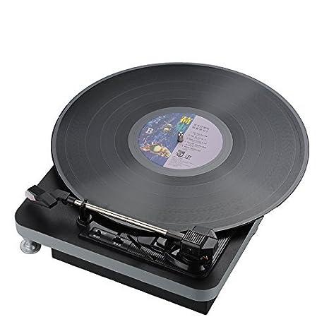 Amazon.com: shenle USB Vinyl Turntable velocidad – 3 33/45 ...