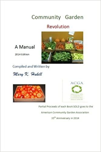 Book Community Garden Revolution: A Manual (Black and White Edition) by Miss Mary K. Hukill (2014-01-16)