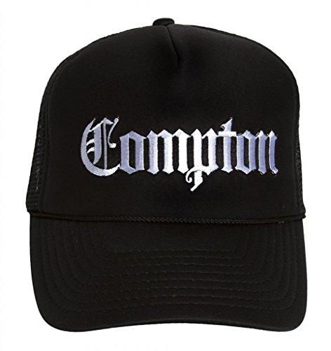(City Caps Los Angeles Compton Olde English Trucker Hat)