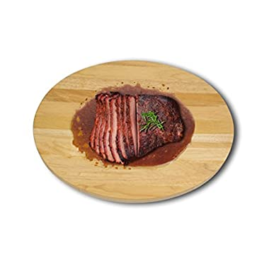 Architec Gripperwood Concave Cutting Board, Brown