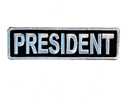 president-embroidered-patch-3-inch-silver-black-ivanp3708