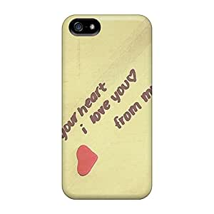 Ajephke Case Cover For Iphone 5/5s - Retailer Packaging From My Heart To You Protective Case
