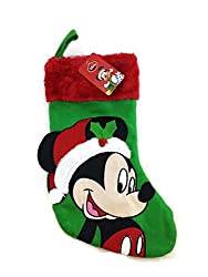 Disney Mickey Mouse 18 Inch Big Face Stocking