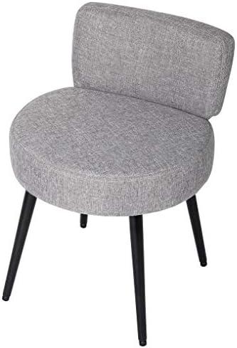 BirdRock Home Grey Linen Chair