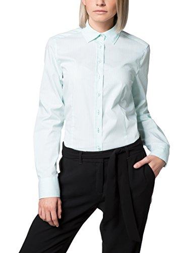 ETERNA long sleeve Blouse COMFORT FIT striped Verde
