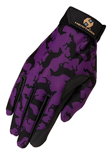 Heritage Performance Gloves, Size , Purple