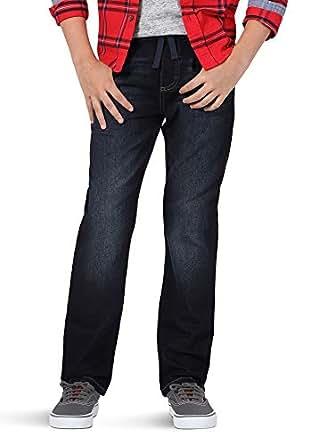 Wrangler Authentics Kids' Big Boy's Knit Denim Jean, Oxford, 8 Husky