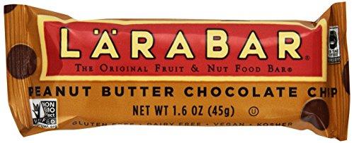 Larabar gluten Fruit & Nut gratuit Food Bar, Peanut Butter Chocolate Chip, 16 - Bars 1.6 Ounce