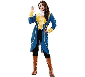 Disfraz de Príncipe Bestia para mujer: Amazon.es: Juguetes y juegos