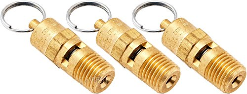 Vixen Horns 250 PSI Safety Valve 1/4