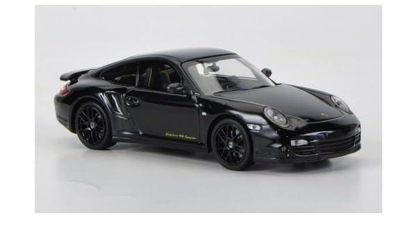 Porsche 911 turbo S Edition 918 Spyder (997), negro, Modelo de Auto, modello completo, Minichamps 1:43: Amazon.es: Juguetes y juegos