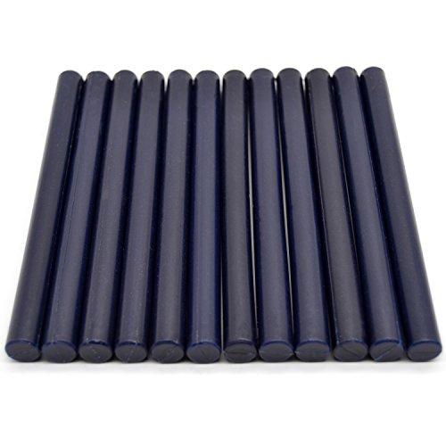 Navy Blue Sealing Wax Sticks for Glue Gun - 5.4
