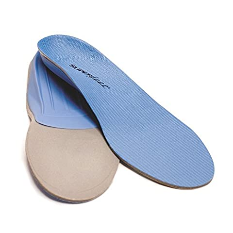 SUPERFEET Blue Premium Insoles Size C Men's 5.5-7 Women's 6.5-8 (Superfeet Blue Premium)