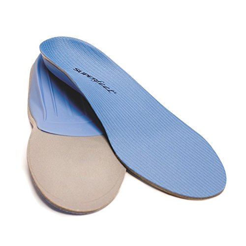 Superfeet Blue Premium Insole Blue (Women's 8.5-10, Men's 7.5-9)