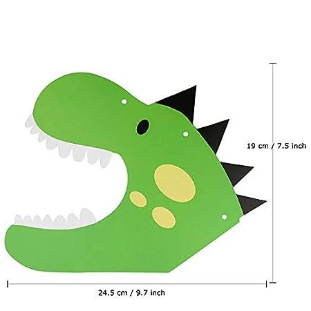 ... Banner Foto Props Papel de seda Pom Poms Verde Rainbow Marble / Green Confetti Globos para Niños Dinosaur Birthday Party Supplies: Amazon.es: Hogar