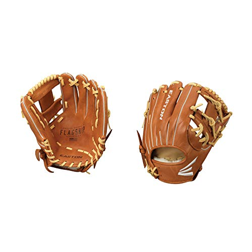 Easton Flagship Series Baseball Glove, Right Hand Throw, 11.5