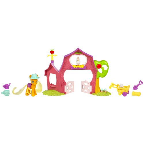 My Little Pony Applejack's Sweet Apple Barn Playset by My Little Pony