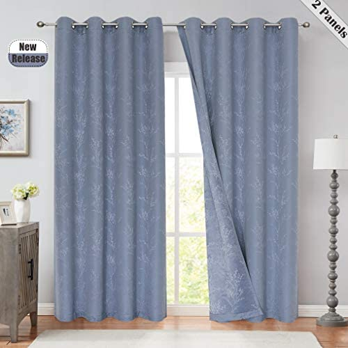 SXZJTEX Linen Blackout Window Curtain